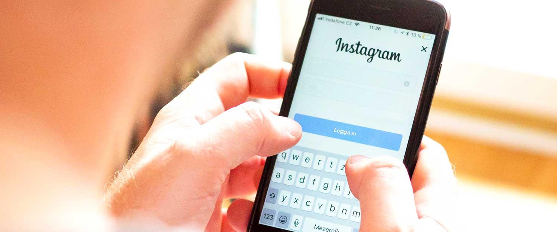 Sociala Medier Instagram