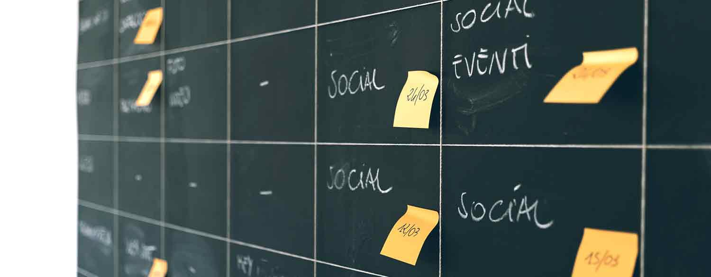 Sociala Medier plan